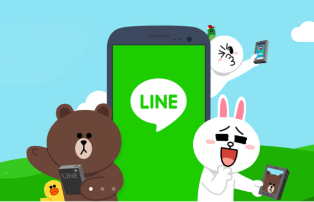 line est un réseau social qui vient d'arriver en france mais déjà avec 200 millions d'utilisateurs dans le monde entier.