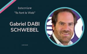Gabriel Dabei Schwebel est la tête de gondole de 1min30