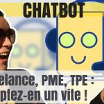 chatbot sur facebook avec manychat
