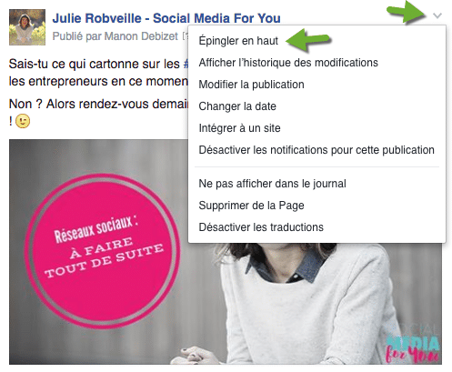 integrer un post Facebook à son blog permet d'éviter un screenshot de son écran