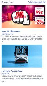 Facebook intègre des publicités ciblées dans notre barre latérale