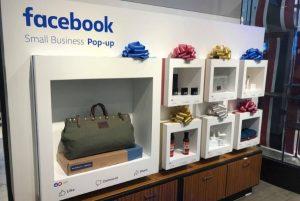 Facebook s'ouvre au commerce physique, en ouvrant des pop-up stores