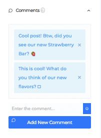 Définissez le texte de vos commentaires instagram grâce à Social Captain