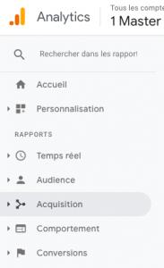fonctionnalités de Google Analytics pour votre site internet