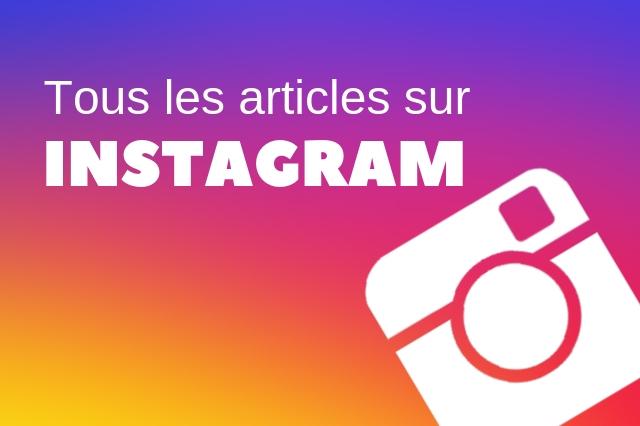 Articles sur Instagram