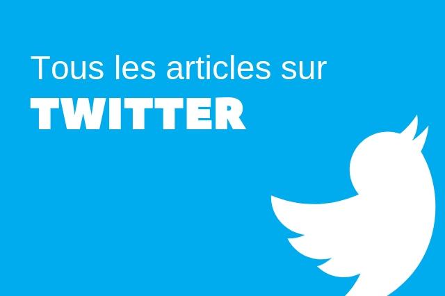 Articles sur Twitter