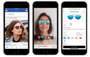 Projet de Facebook Ads en réalité augmentée