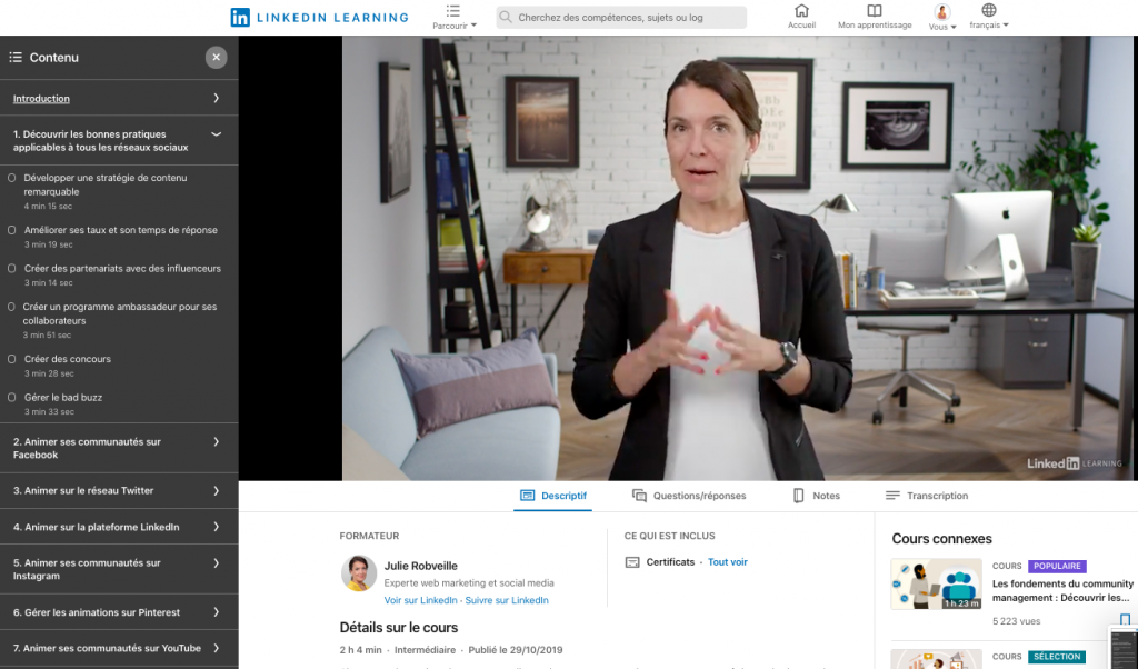 videos linkedin learning premium