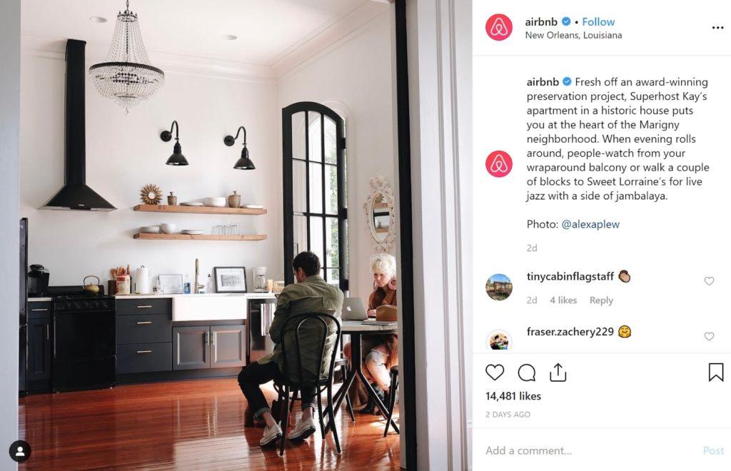 le storytelling de airbnb