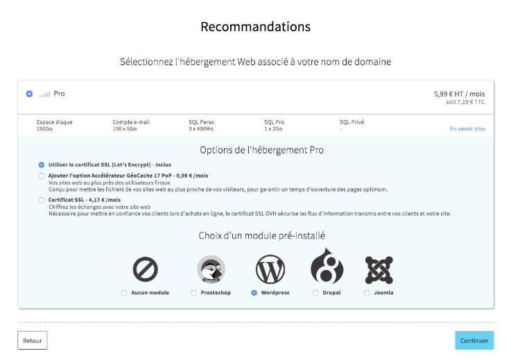 installer un blog wordpress rapidement