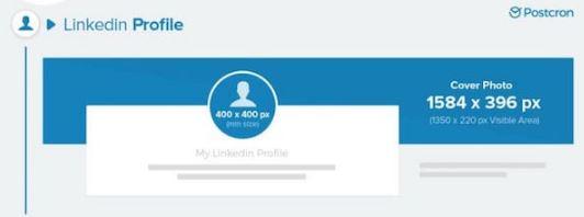 Tailles des images pour votre profil LinkedIn