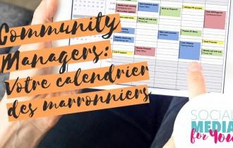 Comment intégrer les marronniers facilement à mon calendrier éditorial ?