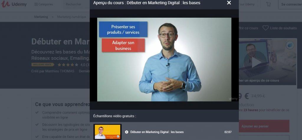 Apprenez les bases du web marketing !