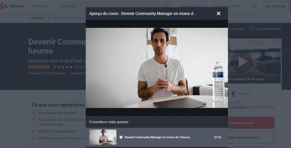 Devenez Community Manager !