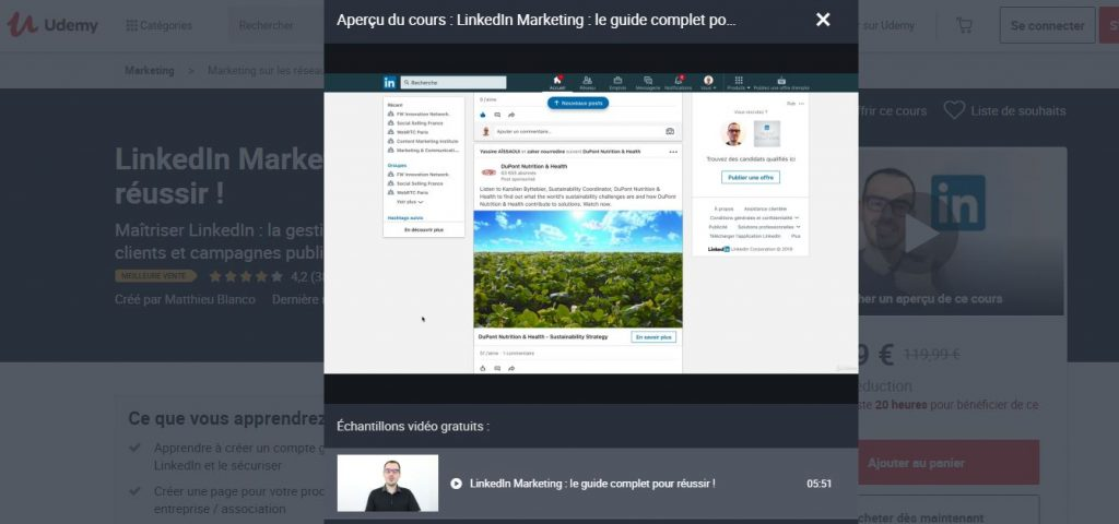 Maîtrisez le marketing LinkedIn !