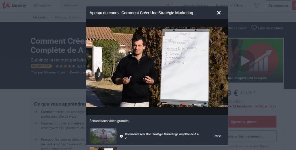 Mettez en place votre stratégie marketing !
