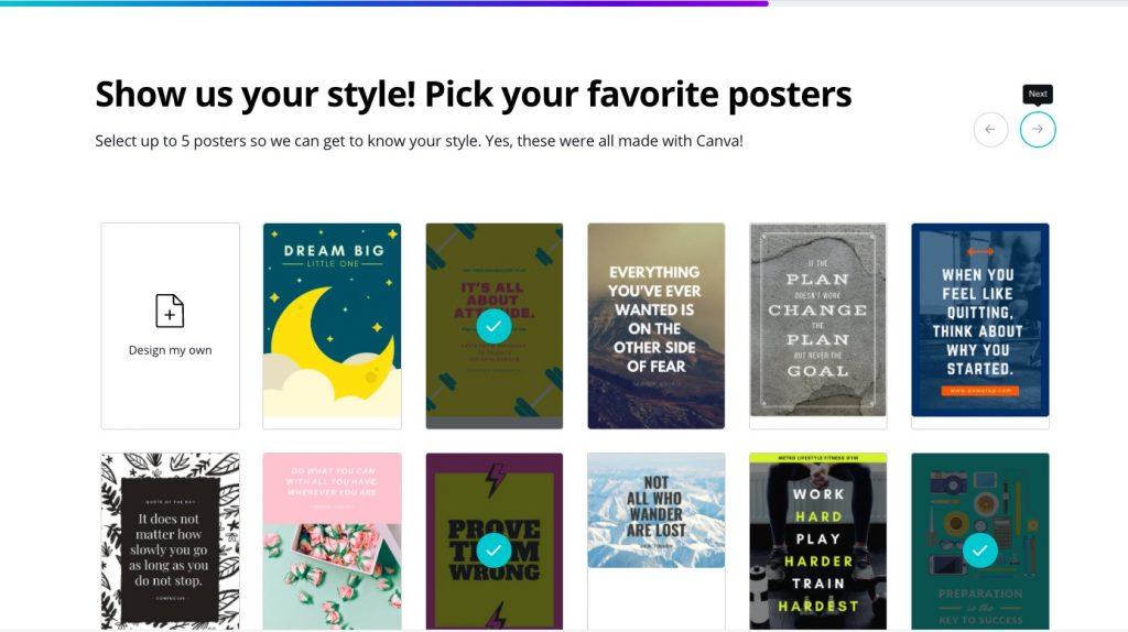 créer votre poster gratuitement sur canva, créer facilement