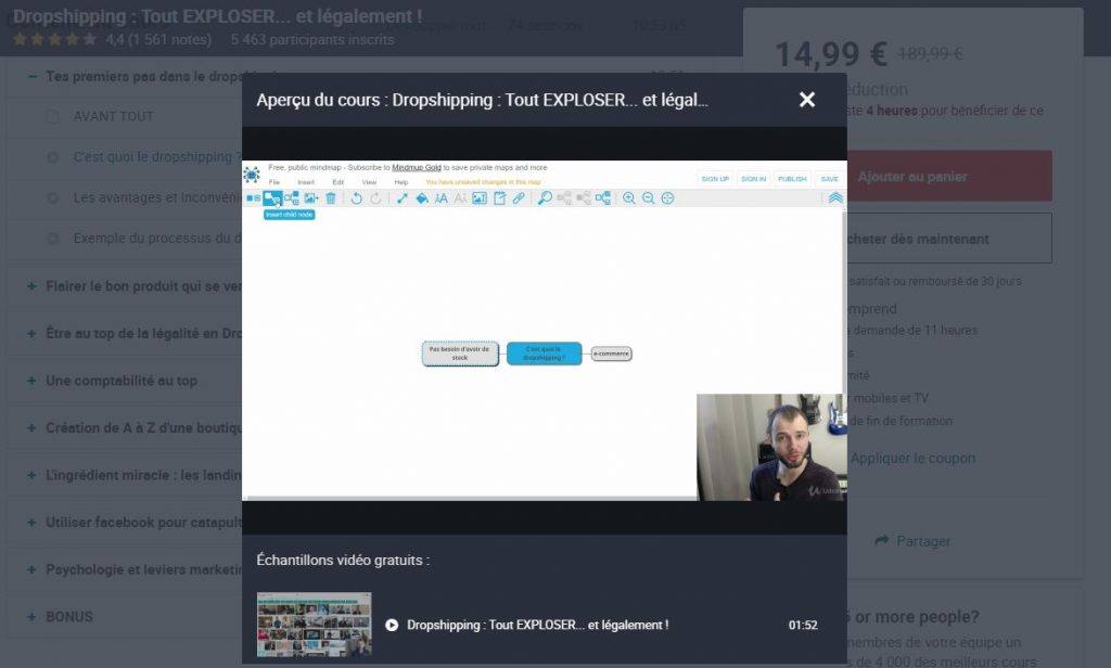 formation dropshipping booster les ventes ecommerce