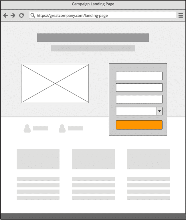 definition landing page