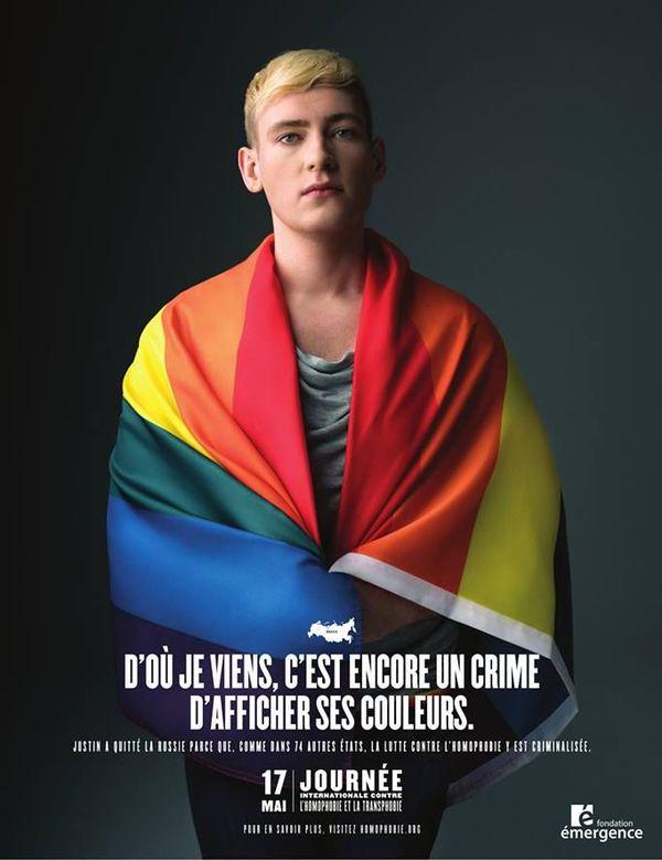 Campagne de communication contre l'homophobie