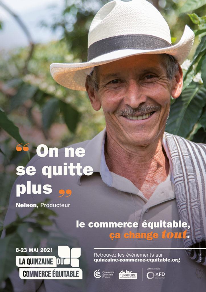 Campagne marketing pour la quinzaine du commerce équitable